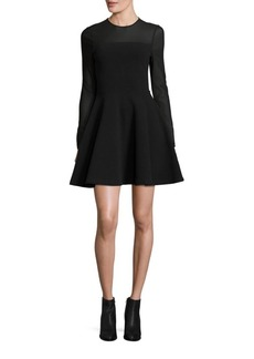 Opening Ceremony Ottoman Fit & Flare Dress