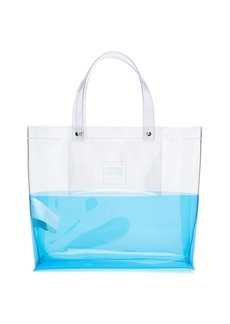 Opening Ceremony panelled box-logo tote bag