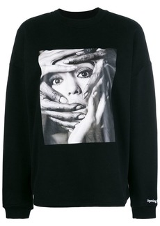 Opening Ceremony photo print sweatshirt