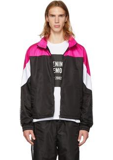 Opening Ceremony Pink & Black Nylon Warm-Up Jacket
