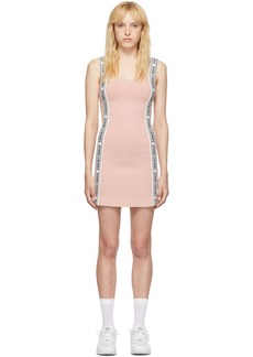 Opening Ceremony Pink Logo Mini Dress
