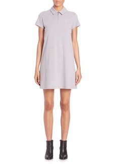 Opening Ceremony Pique Short-Sleeve Polo Dress