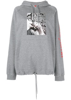 Opening Ceremony portrait patch hoodie