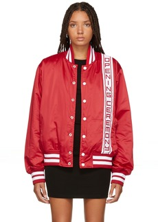 Opening Ceremony Red Stadium Jacket