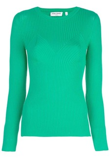 Opening Ceremony ribbed knitted top