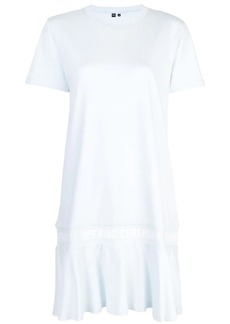 Opening Ceremony scallop elastic logo T-shirt dress