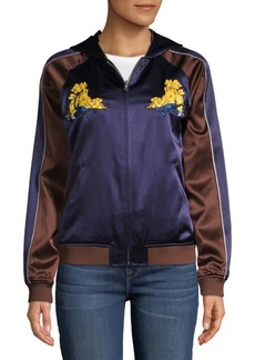 Opening Ceremony Scorpion Silk Track Jacket