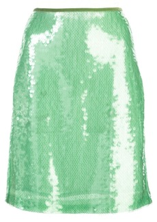 Opening Ceremony short sequined skirt