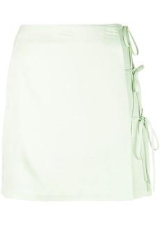 Opening Ceremony short wrap-style skirt