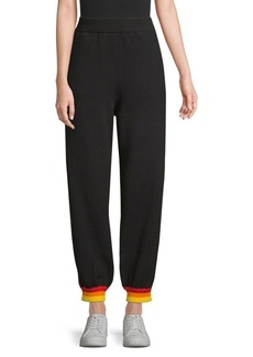 Opening Ceremony Side Stripe Cotton Joggers