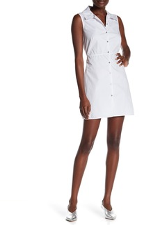 Opening Ceremony Sleeveless Poplin Dress