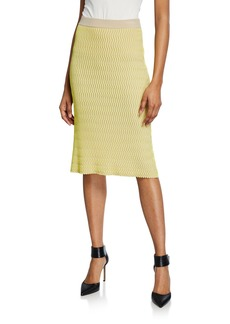 Opening Ceremony Squiggle Pencil Skirt