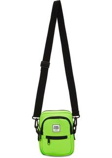 Opening Ceremony SSENSE Exclusive Green Mini Neoprene Crossbody Bag