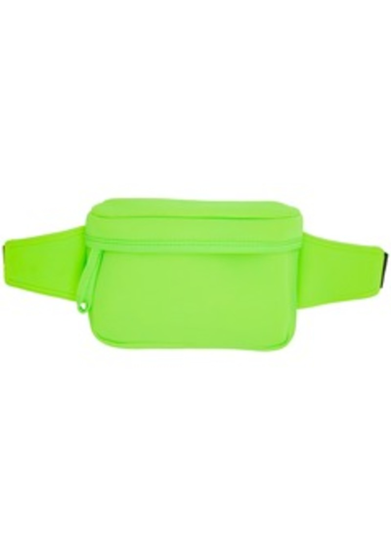 Opening Ceremony SSENSE Exclusive Green Neoprene Fanny Pack