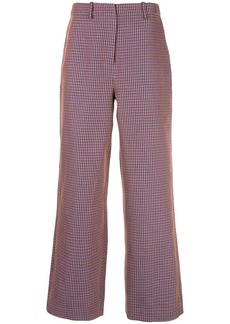 Opening Ceremony straight-leg houndstooth trousers