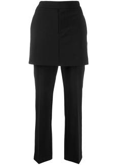 Opening Ceremony straight-leg skirt effect trousers