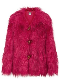 Opening Ceremony Supersonic Faux Fur Jacket