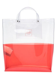 Opening Ceremony two-tone transparent tote