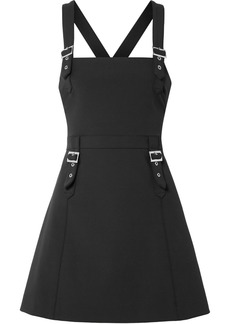 Opening Ceremony William buckled stretch-cady mini dress