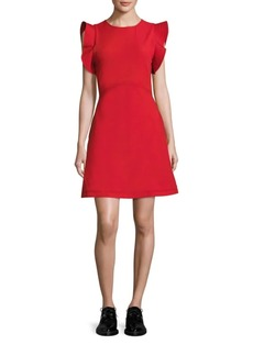 Opening Ceremony William Ruffle Sleeve Dress