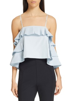 Women's Opening Ceremony Pleated Top