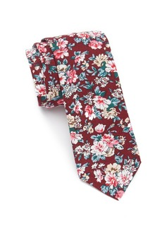 Original Penguin Allover Floral Tie