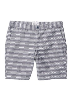 "Original Penguin Bedford 9"" Stretch Cotton Shorts"