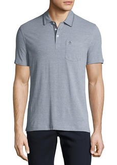 Original Penguin Birdseye Short-Sleeve Polo Shirt