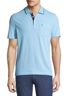 Original Penguin Birdseye Short-Sleeve Polo Shirt