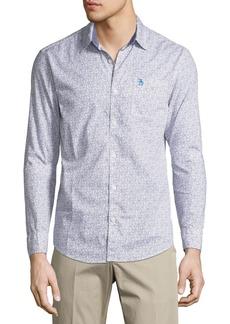 Original Penguin Button-Down Pixel Camo Shirt