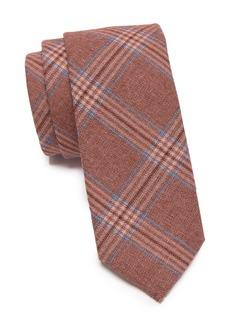 Original Penguin Cameron Plaid Skinny Tie