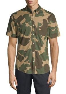Original Penguin Camouflage Short-Sleeve Shirt