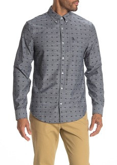 Original Penguin Cassette Print Heritage Slim Fit Shirt