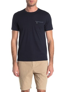 Original Penguin Chambray Trim Pocket T-Shirt