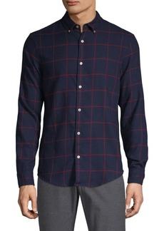 Original Penguin Checkered Button-Down Shirt