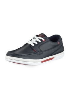 Original Penguin Chet Leather Boat Sneaker