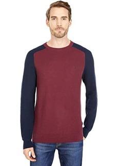 Original Penguin Color-Block Tuck Stitch Sweater