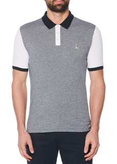 Original Penguin Colorblock Bird's Eye Piqu? Polo