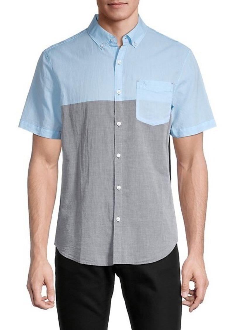 Original Penguin Colorblock Button-Down Shirt