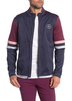 Original Penguin Colorblock Stripe Front Zip Jacket