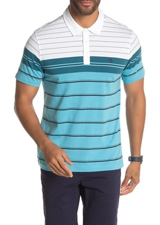 Original Penguin Colorblock Stripe Short Sleeve Polo