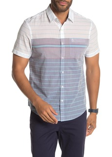 Original Penguin Colorblock Stripe Short Sleeve Shirt