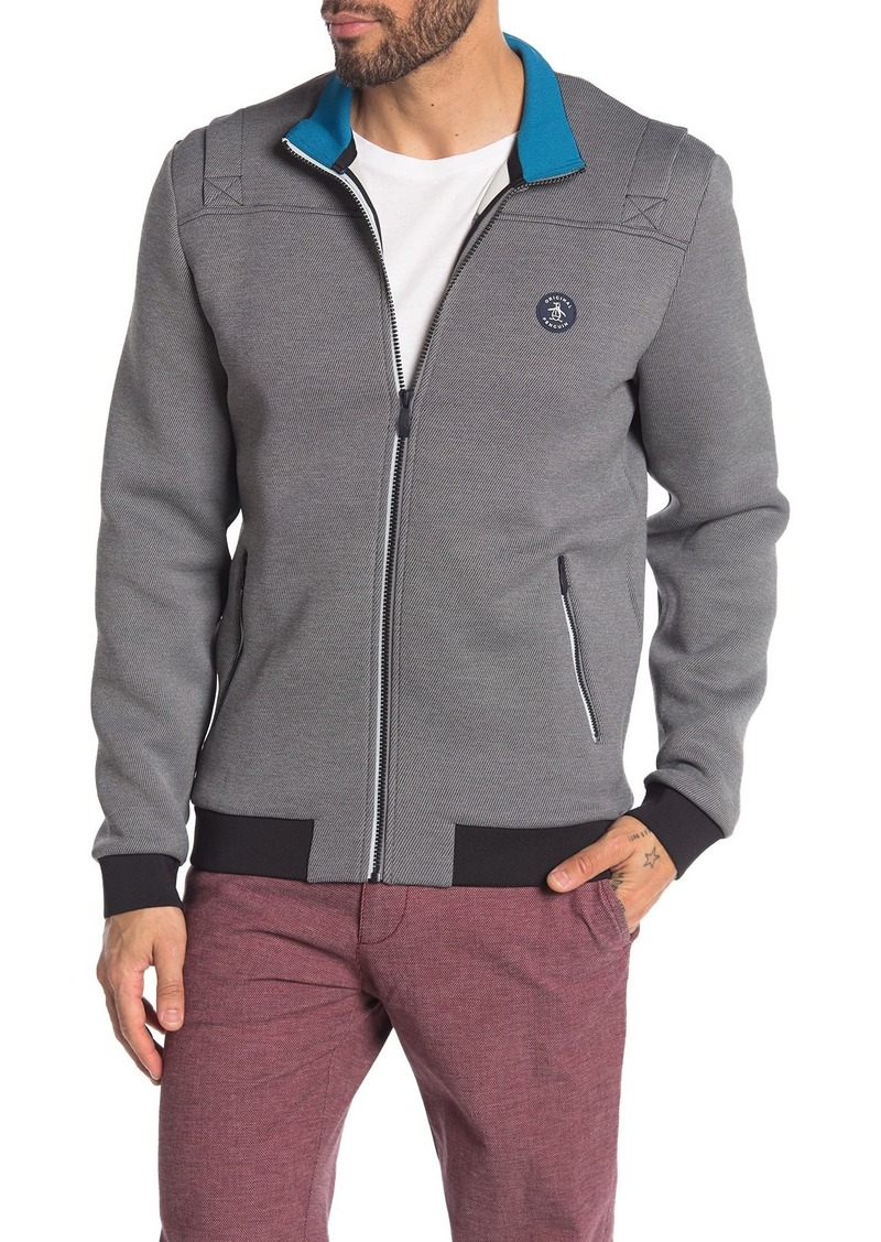 Original Penguin Contrast Trim Track Jacket