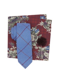 Original Penguin Cooper Check Tie 3-Piece Set