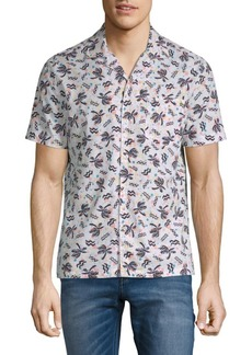 Original Penguin Cotton Palm Tree Shirt