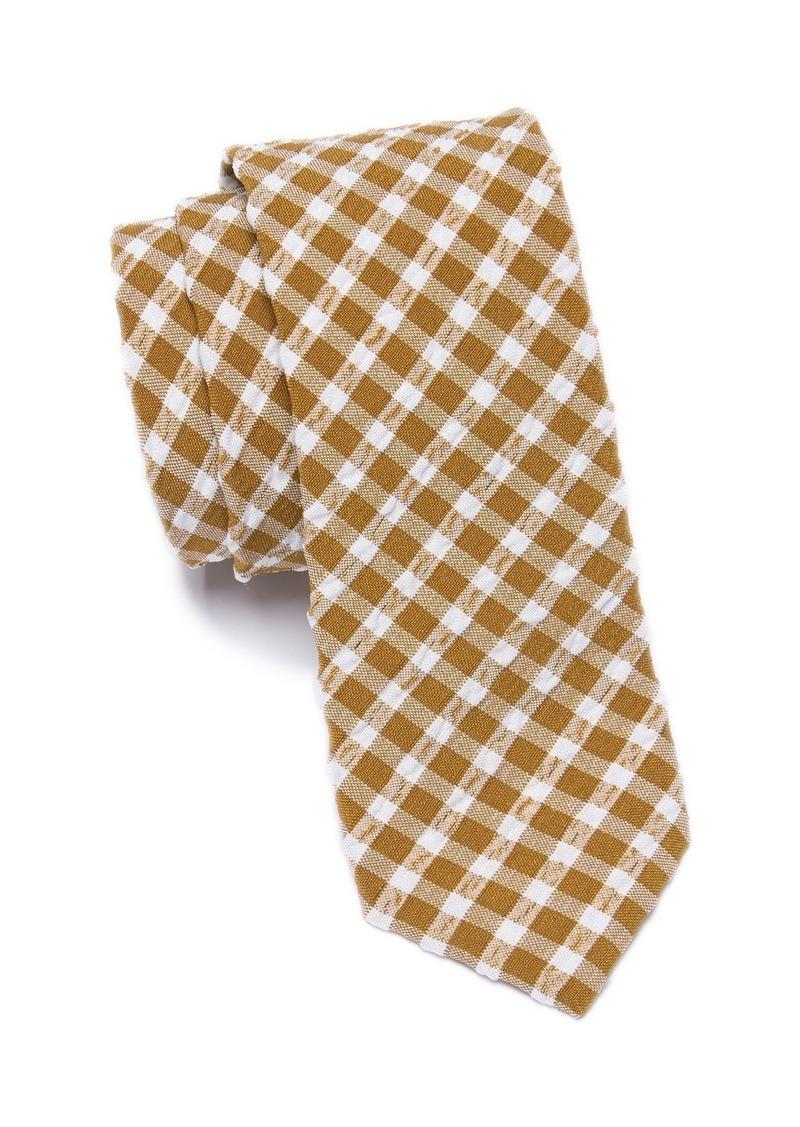 Original Penguin Darrow Check Skinny Tie