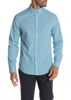 Original Penguin Dobby Mini Gingham Heritage Slim Fit Shirt