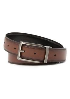 Original Penguin Double Double Reversible Leather Belt