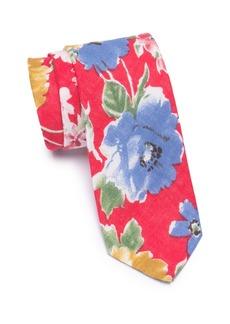 Original Penguin Dylan Floral Skinny Tie