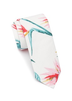 Original Penguin Elad Floral Tie